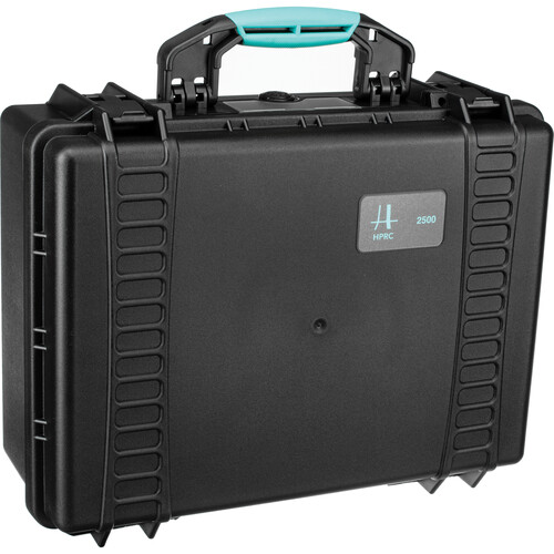 HPRC 2500E HPRC Hard Case without Foam (Black with Blue Handle)