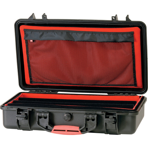 HPRC 2530 Waterproof Hard Case with Soft Padded Open Deck & Dividers (Black)