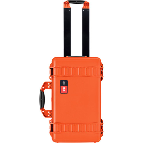 HPRC HPRC 2550W Water-Resistant Hard Case with Built-In Wheels (Orange)