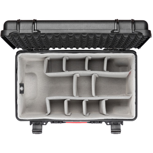 HPRC Wheeled Hard Case with Second Skin (Black)