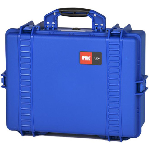 HPRC Water-Resistant Hard Case with Interior Nylon Bag (Blue)