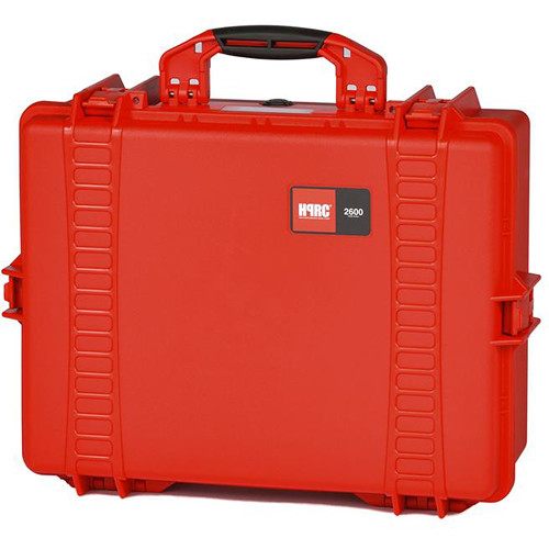 HPRC Water-Resistant Hard Case with Interior Nylon Bag (Red)