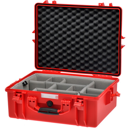 HPRC Water-Resistant Hard Case with Second Skin (Red)