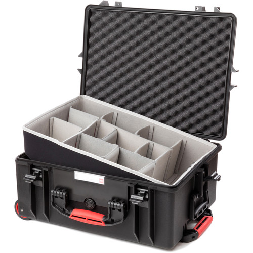 HPRC 2600W Rolling Resin Case with Second Skin and Dividers Kit