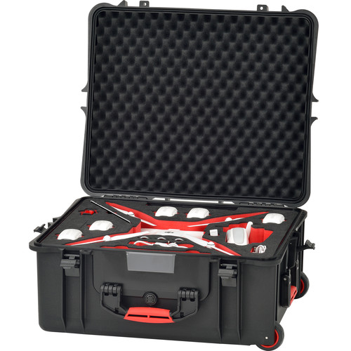 HPRC PHA4-2700W Hard Case with Wheels for DJI Phantom 4 / Phantom 4 Pro / Phantom 4 Pro+
