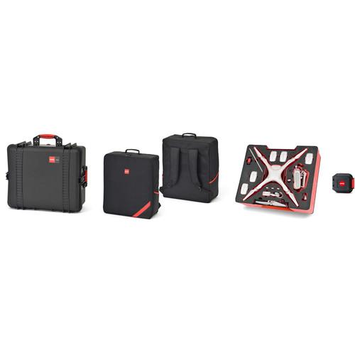 HPRC PHA4 Combo with Hard Case, Backpack, and Foam for DJI Phantom 4 / Phantom 4 Pro / Phantom 4 Pro+