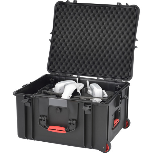 HPRC 2730WINSPRO Wheeled Hard Case with Foam for DJI Inspire 1 Pro