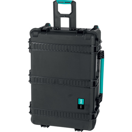 HPRC 2760WE HPRC Hard Case without Foam (Black with Blue Handle)