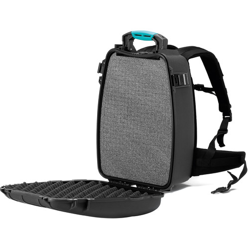 HPRC 3500 Backpack Hard Case with Foam (Black/Blue)