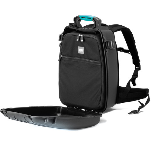 HPRC 3500 Backpack Hard Case with Interior Bag and Divider Kit (Black/Blue)