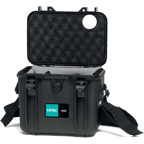HPRC 4050SFD Hard Case with Divider Kit (Black with Blue Handle)