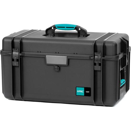 HPRC 4300 Resin Case without Foam (Black/Blue)