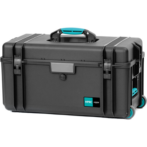 HPRC 4300 Wheeled Resin Case without Foam (Black/Blue)