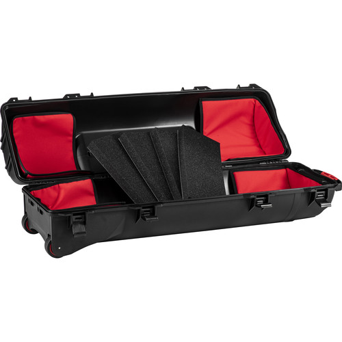 HPRC 6300TRIB Wheeled Hard Case for Tripods with Soft Interiors Kit (Black)