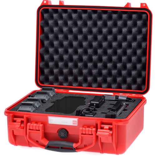 HPRC 2400 Hard Case for DJI Mavic Pro (Red)