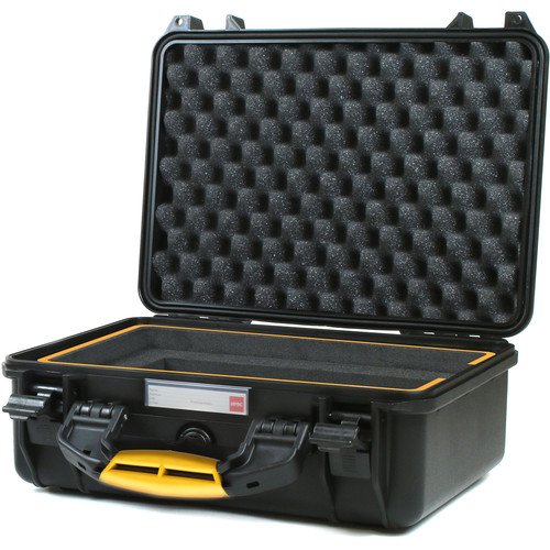 """HPRC 2400 Hard Case with Foam for MacBook Pro 15"""" and Accessories (Black)"""