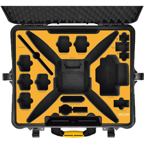HPRC Hard-Shell Wheeled Travel Case for DJI Phantom 4 RTK