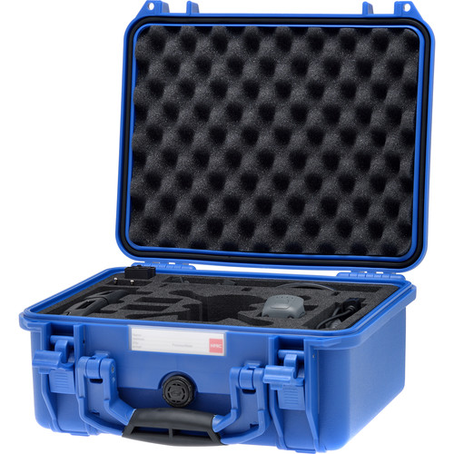 HPRC SPK2300 Hard-Shell Case for DJI Spark Fly More Combo (Electric Blue)