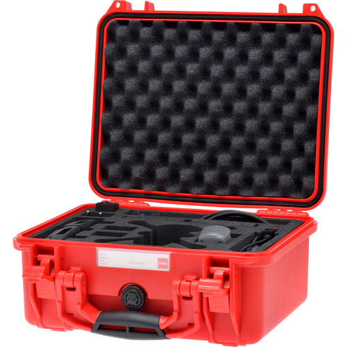 HPRC HPRC2300 Case with Custom Foam for DJI Spark Fly More Combo Kit (Ferrari Red)