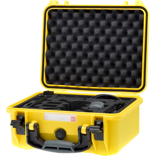 HPRC SPK2300 Hard-Shell Case for DJI Spark Fly More Combo (Yellow)