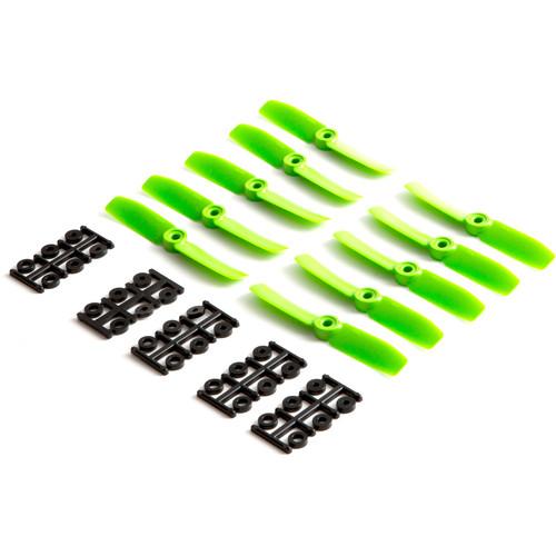 """HQProp Bullnose 4 x 4"""" Fiberglass Propeller (Green, 10-Pack)"""