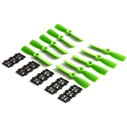 """HQProp Bullnose 4 x 4.5"""" Fiberglass Propeller (Green, 10-Pack)"""