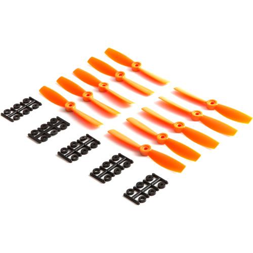 "HQProp Bullnose 5 x 4.5"" Fiberglass Propeller (Orange, 10-Pack)"