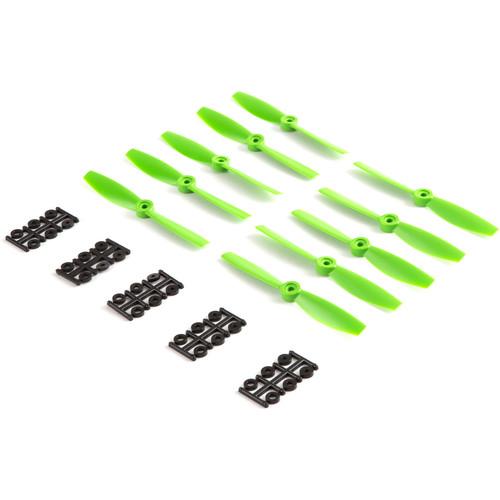 """HQProp Bullnose 5.5 x 4.5"""" Fiberglass Propeller (Green, 10-Pack)"""