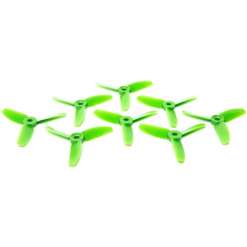 HQProp 3x3x3 Polycarbonate Propeller Set (2 x CW, 2 x CCW, Green)