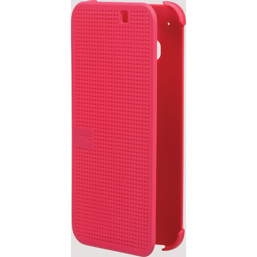 HTC Dot View Premium Case for One M9 (Candy Floss)
