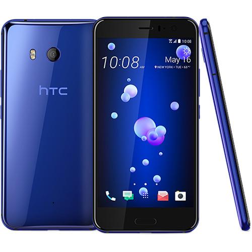 HTC U11 64GB Smartphone (Unlocked, Sapphire Blue)