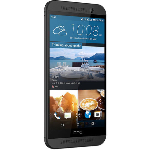HTC One M9 32GB AT&T Branded Smartphone (Unlocked, Gunmetal Gray)