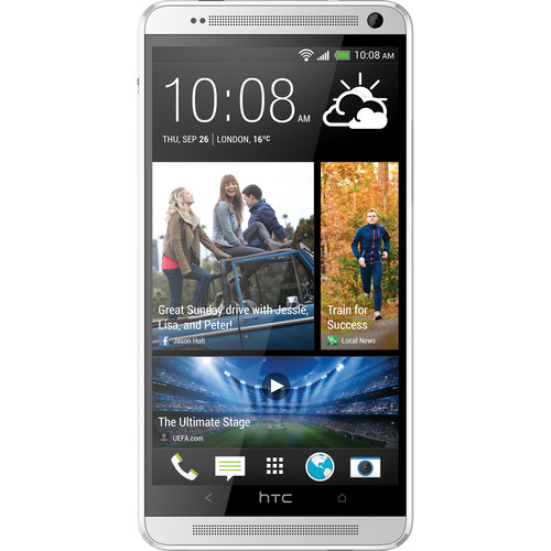 HTC One Max 803S 32GB Smartphone (Unlocked, Silver)
