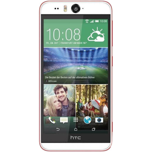 HTC Desire Eye M910X 16GB AT&T Branded Smartphone (Unlocked, White/Red)