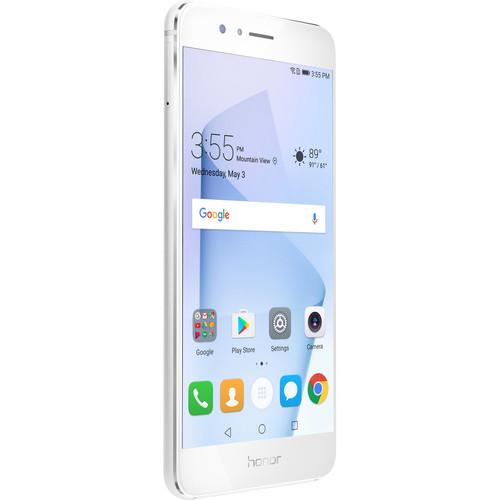 Huawei Honor 8 32GB Smartphone (Unlocked, Pearl White)