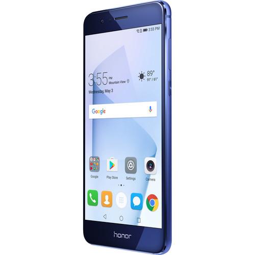 Huawei Honor 8 32GB Smartphone (Unlocked, Sapphire Blue)