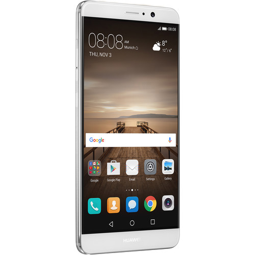 Huawei Mate 9 MHA-L29 64GB Smartphone (Unlocked, Moonlight Silver)
