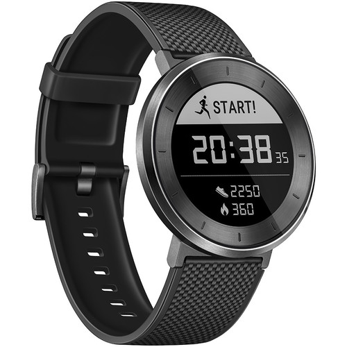 Huawei Fit Sport Watch (Titanium Gray, Black Band, Large)