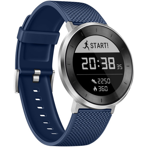 Huawei Fit Sport Watch (Silver, Blue Band, Large)