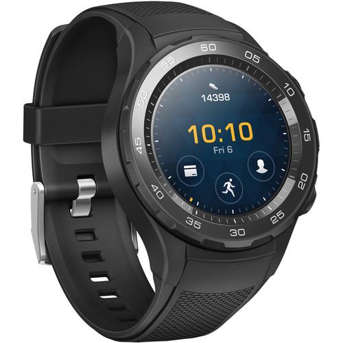 Huawei Watch 2 Sport Smartwatch (Carbon Black)