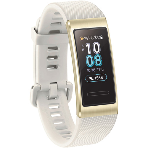 Huawei Band 3 Pro All-in-One Activity Tracker (Quicksand Gold)