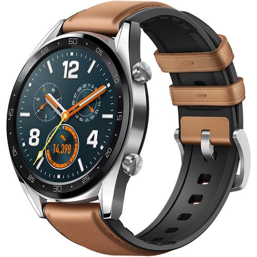 Huawei WATCH GT GPS Smartwatch (Saddle Brown)