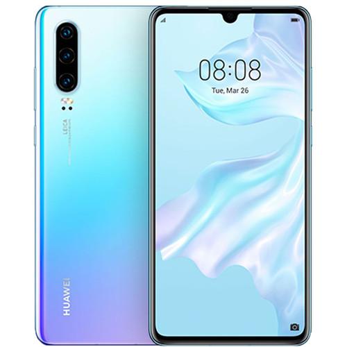 Huawei P30 Dual-SIM 128GB Smartphone (Unlocked, Crystal)