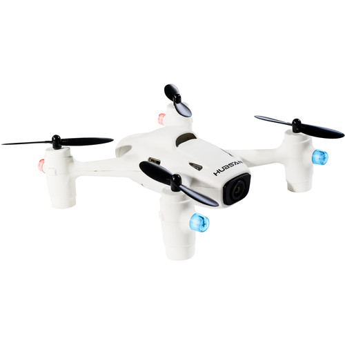 HUBSAN X4 Mini H107C+ Quadcopter with 720p Camera (White)