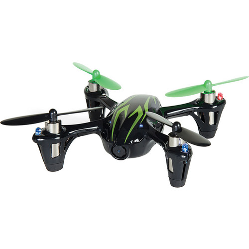 HUBSAN X4 H107C Quadcopter with Transmitter (Black/Green)