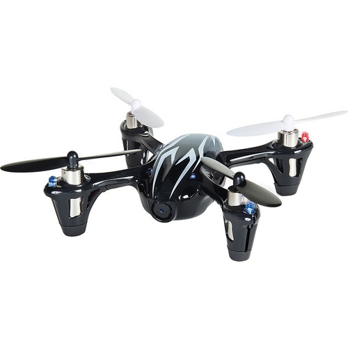 HUBSAN X4 H107C-HD Quadcopter with 720p Video Camera (Black/White)