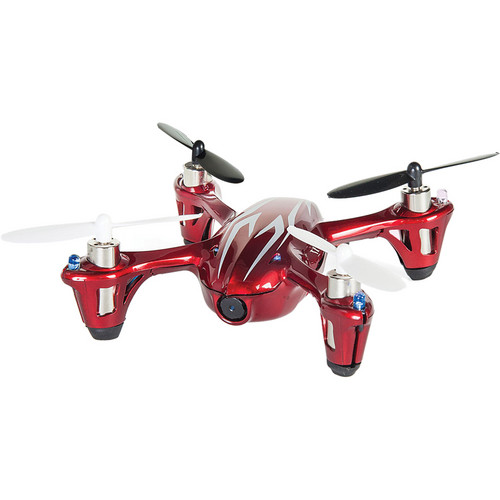 HUBSAN X4 H107C Quadcopter with Transmitter (Red/White)