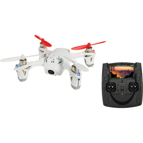 HUBSAN H107D X4 Quadcopter with FPV Camera (White)