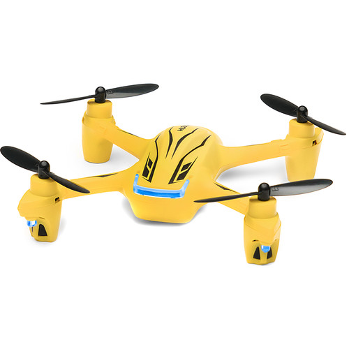 HUBSAN X4 Plus H107P Quadcopter (Yellow)