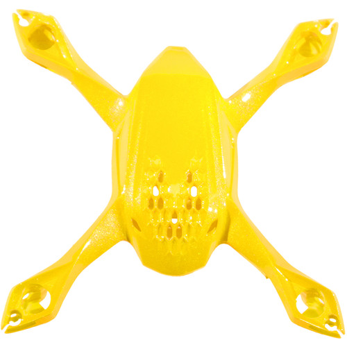 HUBSAN Replacement Body Shell for H108 SPYDER (Yellow)